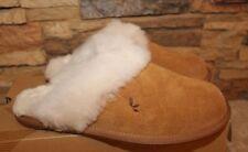 NIB UGG KOOLABURRA Slip On Suede Shearling Slippers CHESTNUT 6 7 8 9 10 11 12