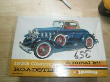 hubley metal kit 1932 chevy not started nice look ~~~~