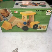 Plan Toys Wooden Bulldozer 6302