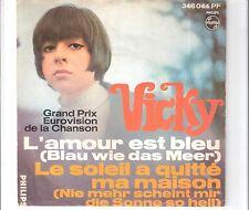 VICKY LEANDROS - L´ amour est bleu
