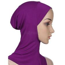 ♡ pleine Jersey Ninja underscarf ♡ hijab écharpe style Inner Hat Cap Bonnet cover
