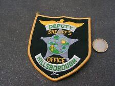 PATCH POLICE ECUSSON COLLECTION  USA   police  hillsborough