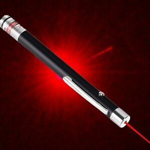 POWERFUL RED LIGHT LASER LAZER POINTER PEN STRONG 900 Mile PROFESSIONAL Beam