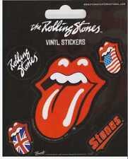 Rolling Stones Aufkleber Zunge Sticker Stones Musik Bands Rock