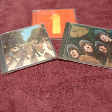Beatles CD Lot(3)Rubber Soul, Abbey Road, 1