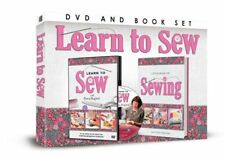 LEARN TO SEW DVD & BOOK GIFT SET NEW WITH FIONA HESFORD STEP BY STEP INSTRUCTION