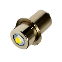 HQRP Upgrade Bulb 3W LED 150LM for Ryobi ONE+ P704 P700 7811501 Flashlight