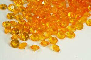 Pack of 100 ACRYLIC 12MM Diamonds Wedding Table Scatter Confetti Choose Color