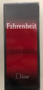 Fahrenheit Dior 50ml Eau de Toillet Spray . New in box