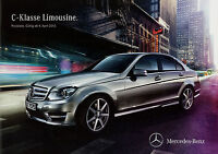 1077MB Mercedes C-Klasse Preisliste 2012 4.4.12 W204 C 63 AMG 350 250 220 200