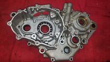 YZ250F YAMAHA 2006 YZ 250 F CRANKCASE LEFT ENGINE CASE CRANK BOTTOM LOWER