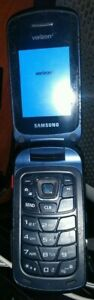 Samsung Convoy 4 B690 - Black (Verizon) Flip Cell Phone !!FOR PARTS ONLY!!