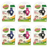 6x GLOBOL Anti-Mücken Moskito Armband | Mückenschutz | Mückenband Mückenarmband