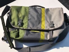 Timbuk 2 Classic Messenger Bag.  Large.  Green/ Grey Excellent Condition!!