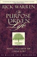 The Purpose Driven Life by Rick Warren a paperback book FREE USA SHIPPING