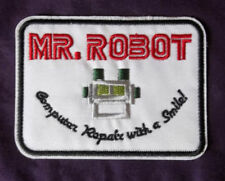 MR .ROBOT PATCH RAMI MALEK CHRISTIAN SLATER COMPUTER REPAIR WITH A SMILE! USA