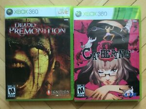 Xbox 360 Deadly Premonition & Catherine (Complete) - NTSC US