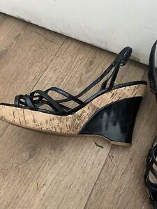 Ladies Size 7 Wedge Sandal