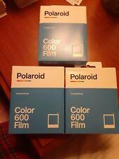 Polaroid I-type color Film. Three 8 packs. 24 Pictures total.