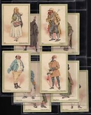 PLAYERS, CHARACTERS FROM DICKENS, EXTRA LARGE SET OF 10, ISSUED IN 1914. SCANNED