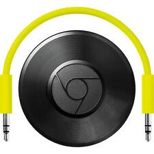 Open box Google Chromecast Audio Media Streamer - Black