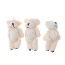3Pcs Kawaii 6cm Bears Plush Soft Toys Dolls For Children Gifts Wedding BouquetXe