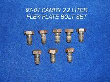 1997 - 2001 TOYOTA CAMRY 2.2 LITER 4 CYLINDER 5SFE FLEXPLATE OEM BOLT SET 97-01