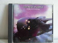 CD ALBUM Deepest purple The very best of DEEP PURPLE CDP 7 46032 2