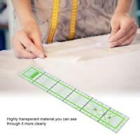 5*30cm Transparent Tailor Quilting Tool DIY Sewing Patchwork Ruler Drawing Craft
