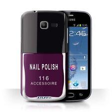 Étuis, housses et coques violets Samsung Galaxy S pour téléphone mobile et assistant personnel (PDA) Samsung