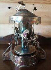 Vintage Horse Carousel (Let Me Call You Sweetheart ) Copper Music Art Piece