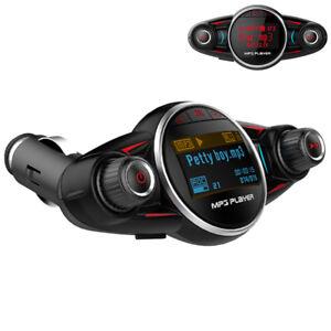 Universal Bluetooth 4.0 FM Transmitter BT08 2.1A USB Charger Car Kit MP3 Player