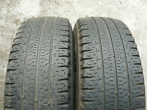 2x CAMPER VAN TYRES MICHELIN AGILIS CAMPING 215 70 15 CP 4+mm TESTED P747