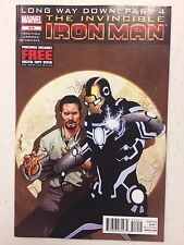Invincible Iron Man #519 Comic Book Marvel 2012