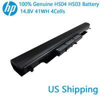 Genuine OEM HP HS04 HS03 HSTNN-LB6U 807956-001 807957-001 807612-421 G4 Battery