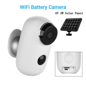 720P HD WiFi Battery Camera Baby Monitor Network IR Night Vision Waterproof