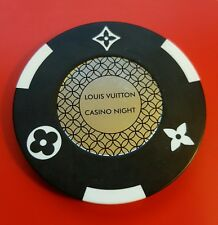 Authentic Collectable Louis Vuitton Casino Night Poker Chip / Tournament / WSOP