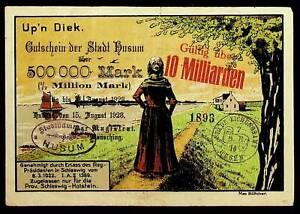 Husum 10 Milliarden Mark auf Los d. Nordmark-Lotterie Überdruck