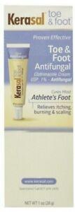 Kerasal toe & foot Anti- Fungal treatment cream *EXP 2017* Old Formula Item