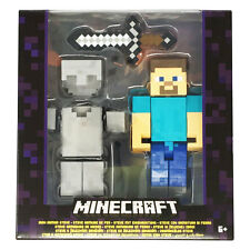 Minecraft 5 Inch Action Figure - Iron Armor Steve *BRAND NEW*