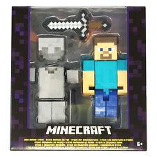 Minecraft 5 Inch Action Figure - Iron Armor Steve *BRAND NEW*