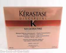 KERASTASE discipline K smooth-in-motion MASQUE fluidità SHINE ANTI FRIZZ 200ml