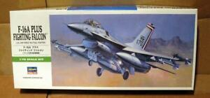 HASEGAWA 1/72 F-16A Plus Fighting Falcon USAF Tactical Fighter Detailed 00231