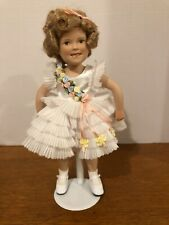"""Shirley Temple 10"""" Doll Danbury Mint """"Baby Take A Bow� w/Stand & Outfit !"""