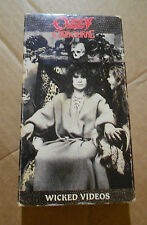 Ozzy Osbourne VHS No rest for the wicked 1988