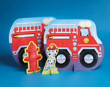 Firefighter Fire Man Party Centerpiece - Birthday Party Supplies