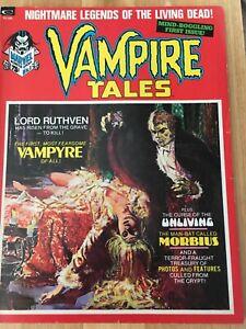 Vampire Tales No.1  (Marvel, 1973) rare excellent condition