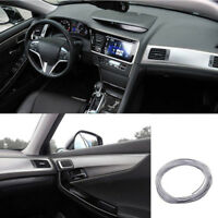5M/16ft Silver Car Interior Exterior Decoration Chrome Moulding Trim Strip Line