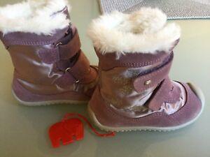 Mädchen Winterstiefel Gr. 21 Stiefel mittel Elefanten Schuhe SUNNY Snowflake NEU