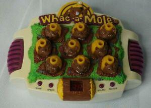Whac a mole game,marvel 1999 whac a mole game, whac-a-mole